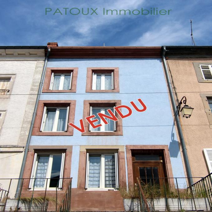 Offres de vente Maison Badonviller (54540)